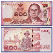 Тайланд 100 бат UNC ПРЕСС