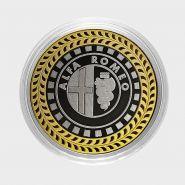 ALFA ROMEO, монета 10 рублей, с гравировкой, монета Вашего авто