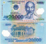 Вьетнам - 20000 Донг 2014 UNC (полимер)