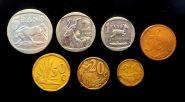 НАБОР 7 шт. 5-10-20-50 центов 1-2-5 ранда (рэнда) ЮАР флора фауна