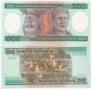 Бразилия - 200 Крузейро 1981 - 84 UNC