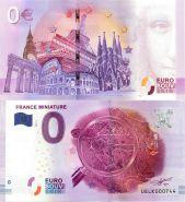 0 ЕВРО 2017 ГОД. FRANCE MINIATURE