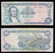 Ямайка 10 долларов 1994