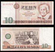 ГДР 10 марок 1971