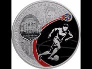 3 рубля СЕРЕБРО ЕКАТЕРИНБУРГ 2018 Чемпионат мира по футболу FIFA 2018 в России (СПМД)