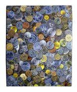 Альбом для монет (обложка) 225х270 мм с 4-х кол.мех.