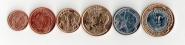 БРАЗИЛИЯ - набор 6 монет 2004 2014 Текущие UNC